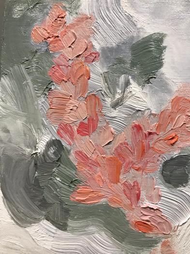 """Flowers in my Adversity"" | oil on canvas"